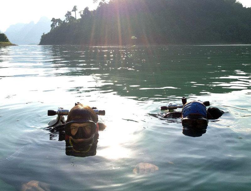 Choew Lan Lake Scuba Diving
