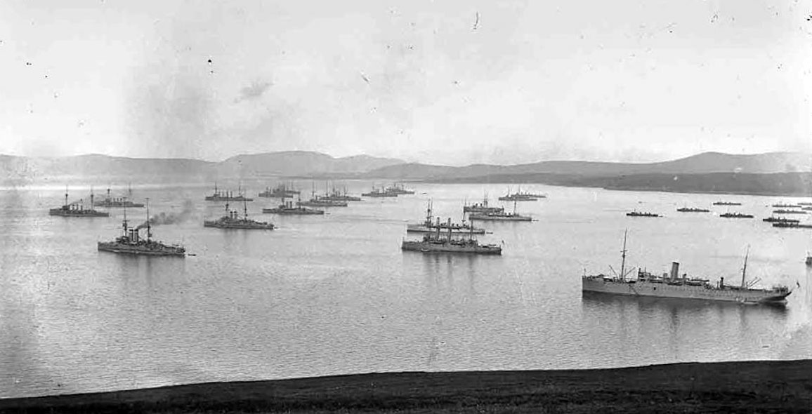 German fleet - Scapa Flow wrecks
