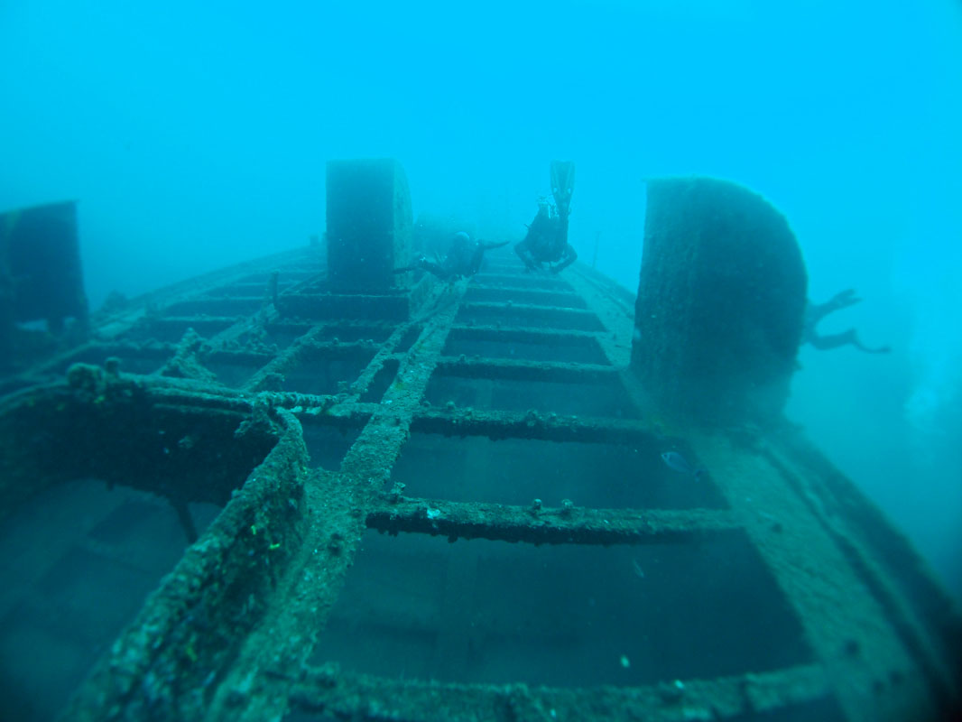 Lina Wreck Diving in Croatia