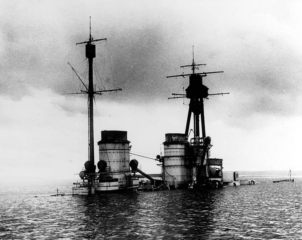 SMS Hindenburg Sunk at Scapa Flow Wrecks