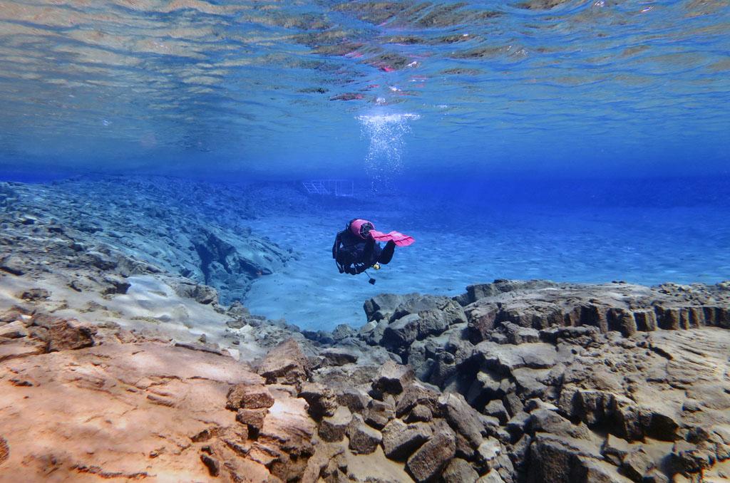 Silfra Scuba Diving, Iceland