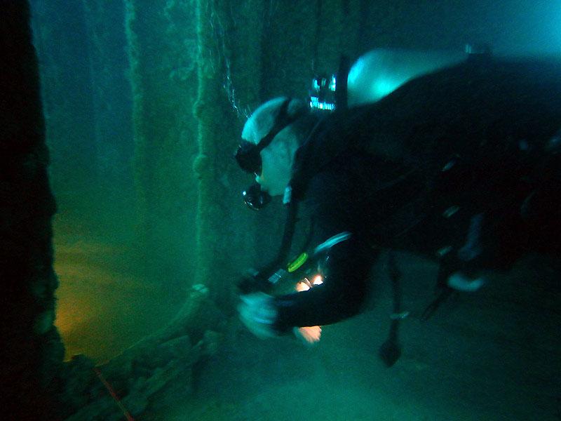 C56 Wreck dive