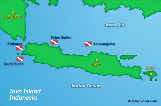 Java Dive Map