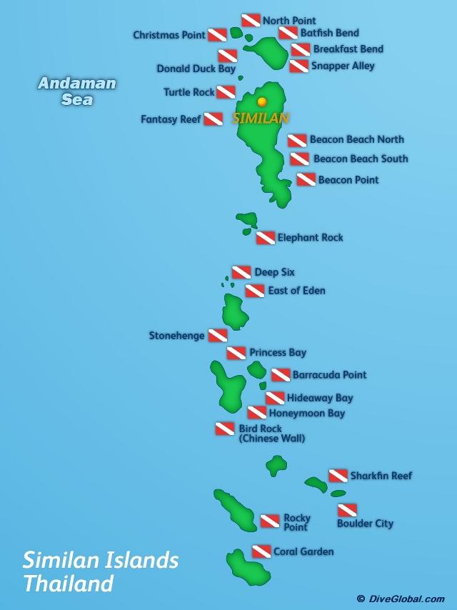 Similan Islands Scuba Diving Reviews